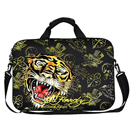 Image Unavailable. Image not available for. Color  Ed Hardy Gates Tiger Laptop  Bag ... 7ca89e627b
