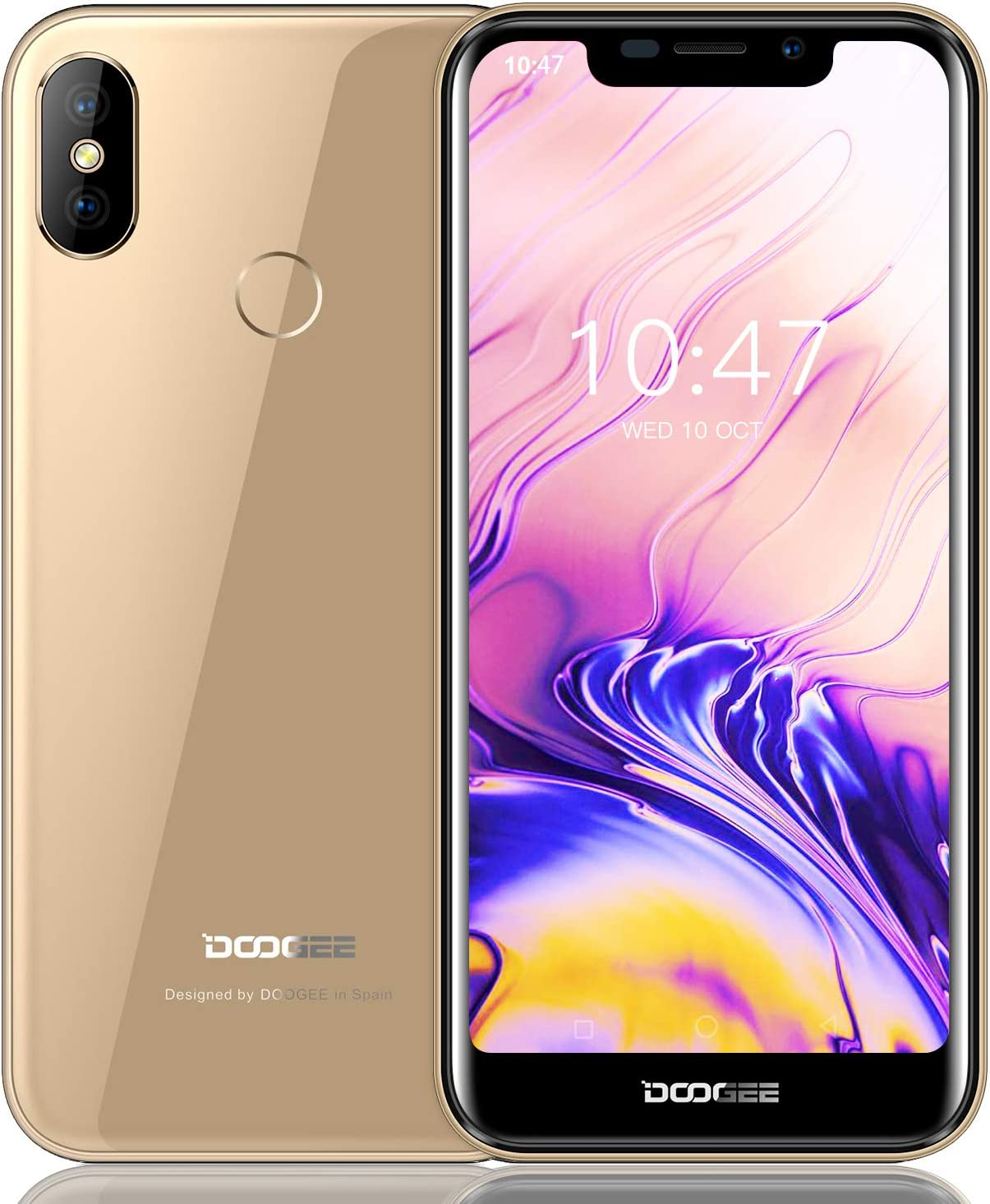 Moviles Libre, DOOGEE X70 Smartphone Libres, 3G Android 8.1 ...