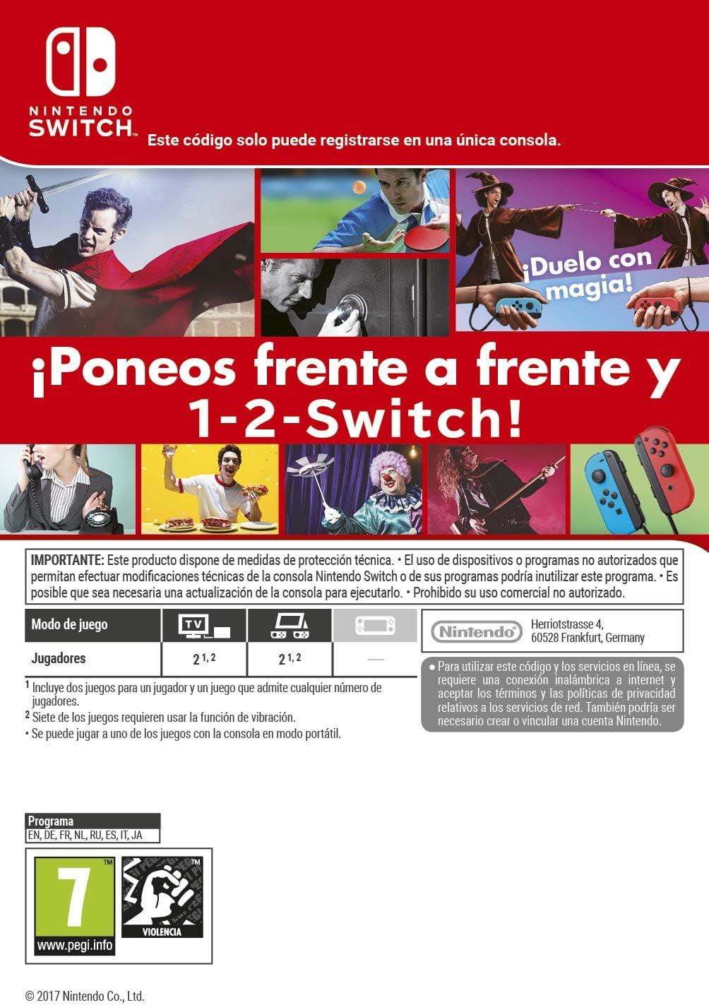 1-2-Switch | Switch-Download Code: Amazon.es: Videojuegos