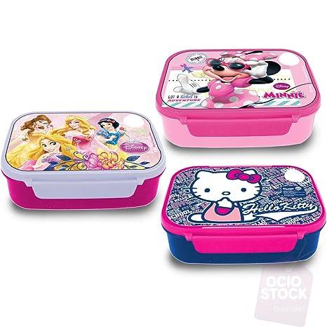 Sandwichera microondas Minnie Princesas Hello Kitty surtido-1 ...