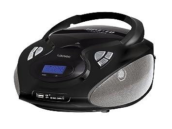 CD- & Kassettenrekorder CD Spieler Stereoanlage AUX-IN MP3 Kinder CD Kassetten Radio Hi-Fi Ghettoblaster