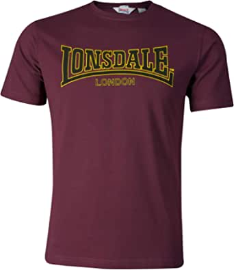 Lonsdale London Classic - Camiseta de Manga Corta para Hombre