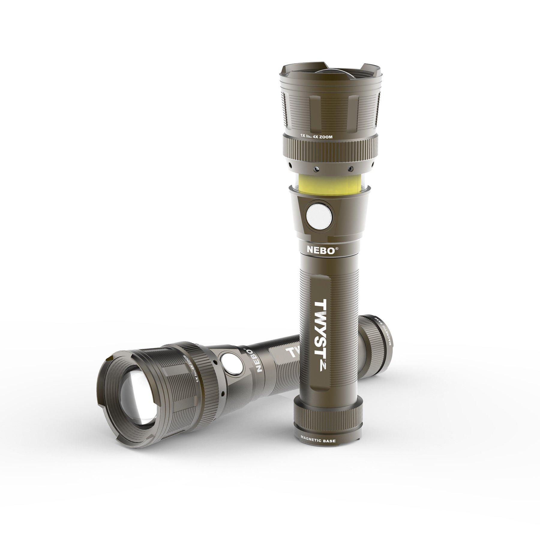 Nebo Tools Twyst Z Work Light Grey model 6372