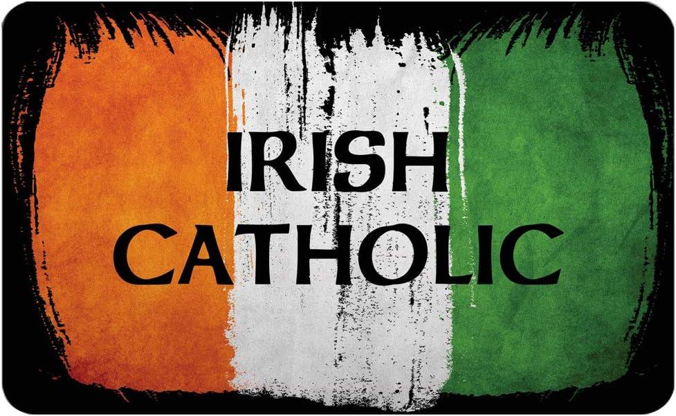 Makoroni - IRISH CATHOLIC Irish Ireland Flag Des#2 Refrigerator Wall Magnet 2x3 inc