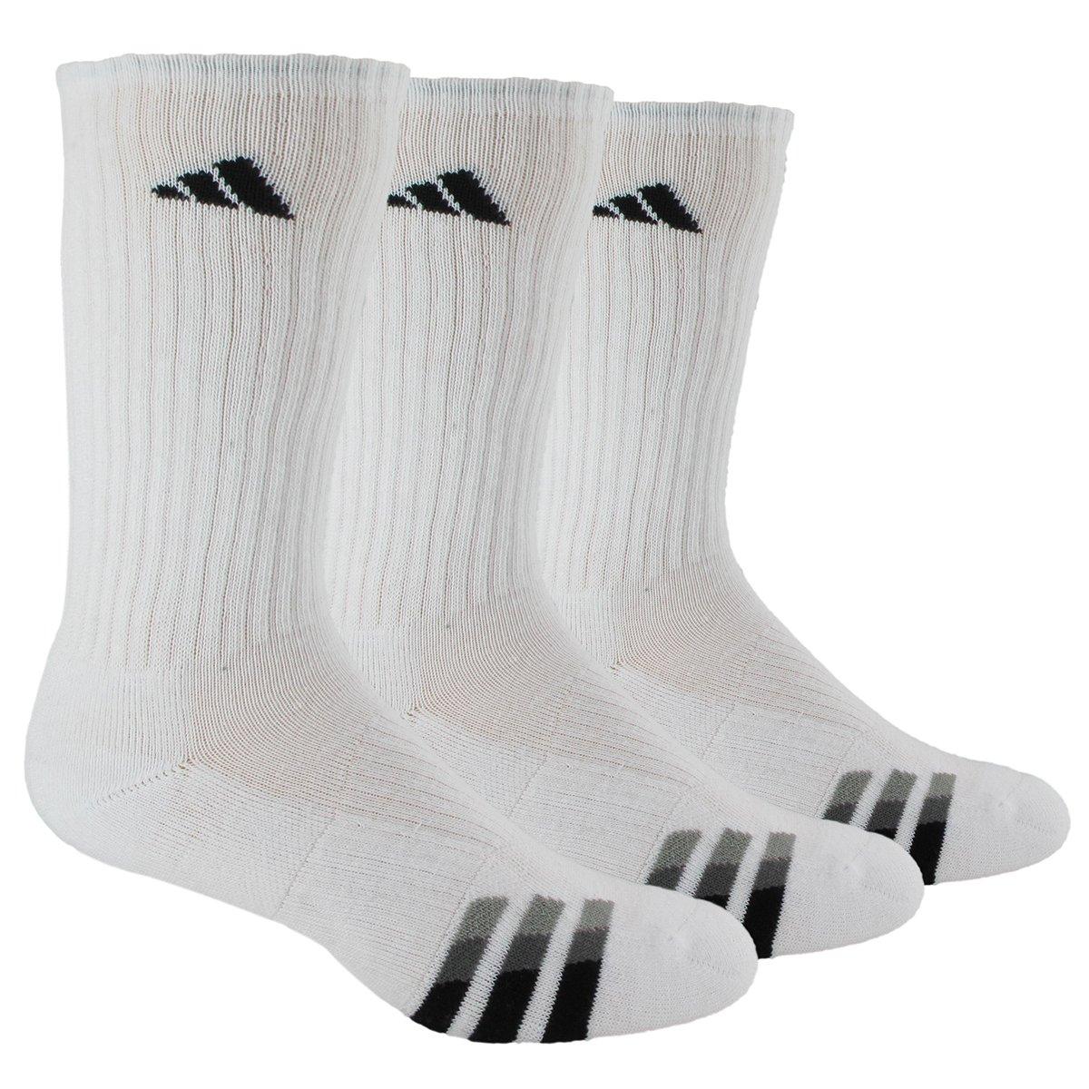 adidas Men's Cushioned Crew Socks (3-Pack)