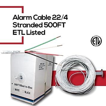 Amazon.com: cctvonsales alarma antirrobo Seguridad Cable de ...