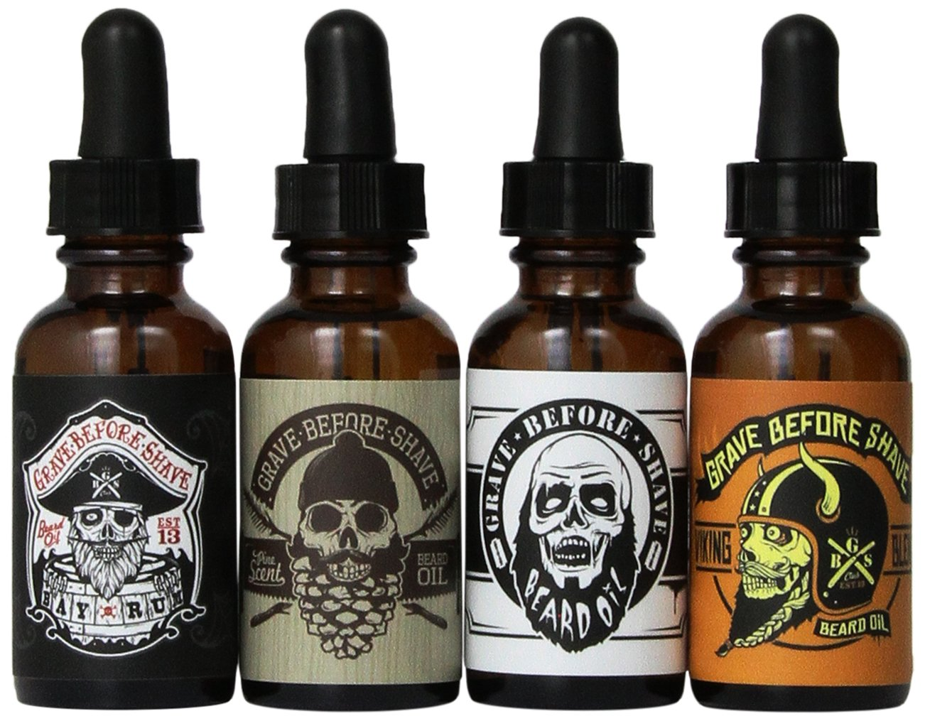 Grave Before Shave™ Beard Oil 4 Pack