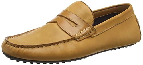 Aldo Osegod, Mocasines para Hombre, Marrón-Brown (Cognac/28), 41 EU: Amazon.es: Zapatos y complementos