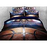 Basket ball parure de lit housse de couette 140x200 for Housse de couette basket ball