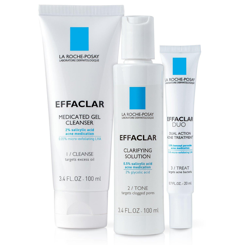 La Roche-Posay Effaclar Dermatological Acne Treatment System, 2-Month Supply by La Roche-Posay