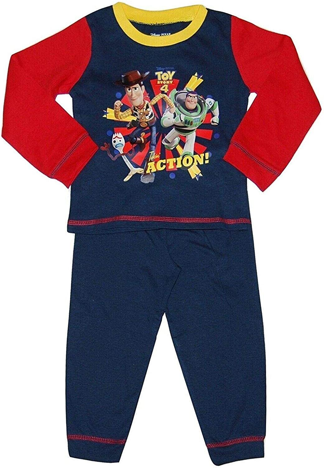 BOYS KIDS NEW TOY STORY WOODY OFFICIAL  PYJAMA SET 18-24 MONTHS 2 3 4 5 6 YEARS