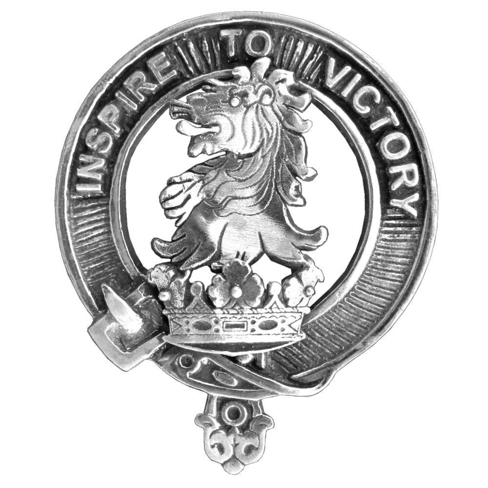 Currie Clan Crest Scottish Cap Badge
