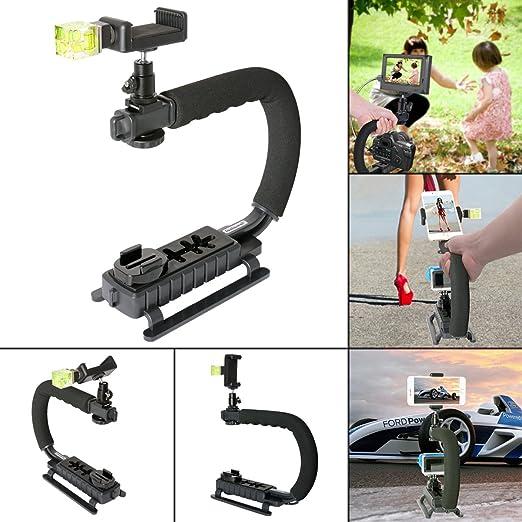 6 opinioni per Fantaseal® DC+DV+3-in-1 Stabilizzatore Supporto Steadycam per Fotocamera
