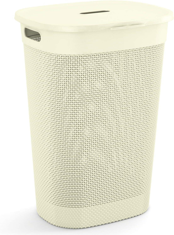 CURVER Filo Cesto para Colada 44 x 35 x 61 cm Blanco Marfil