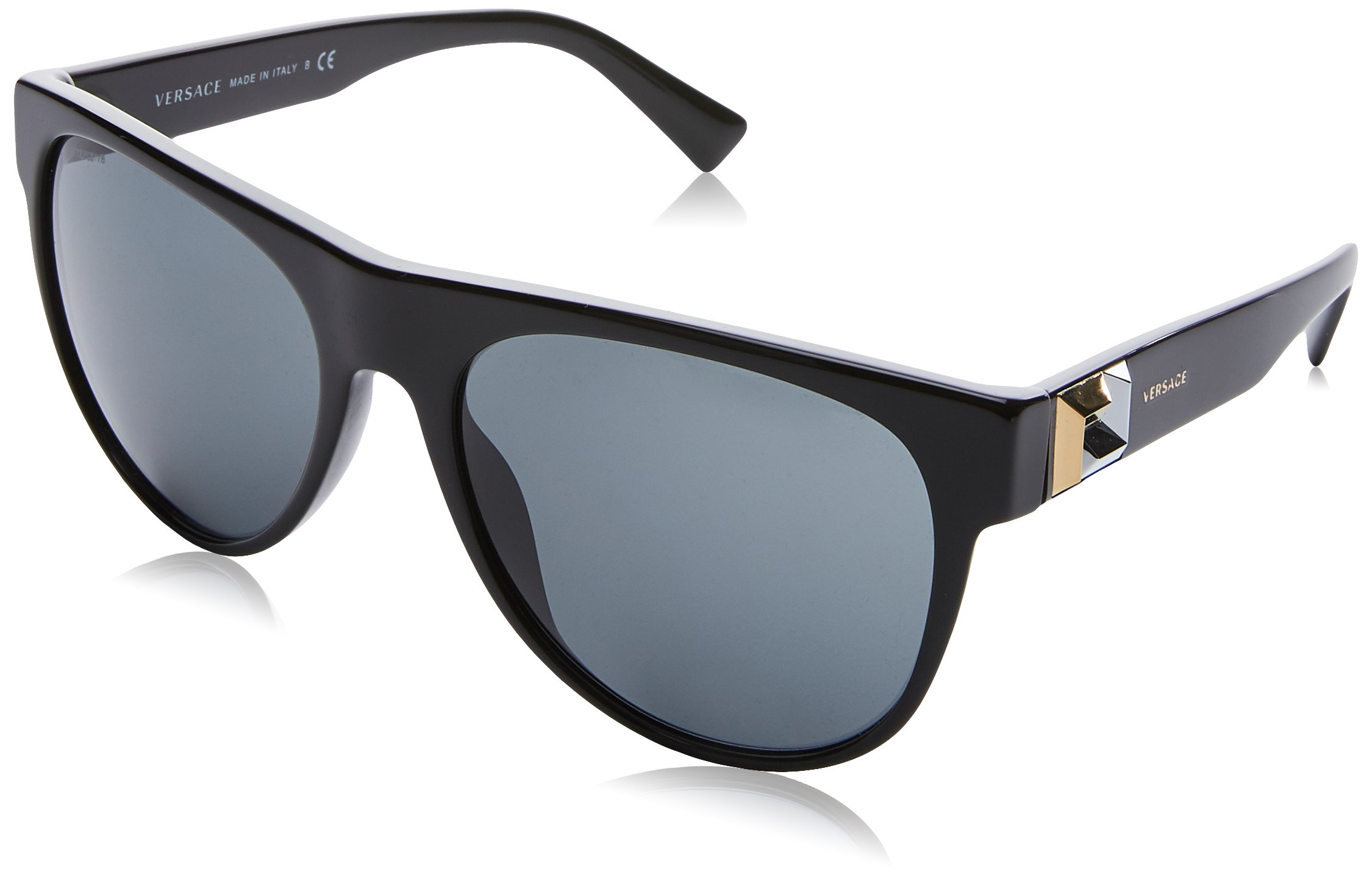 6a0473a4dfda Authentic Versace Sunglasses VE4346 GB1 87 57mm Black-Gold   Grey ...