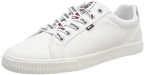 Tommy Jeans Casual Sneaker, Zapatillas para Mujer: Amazon.es: Zapatos y complementos