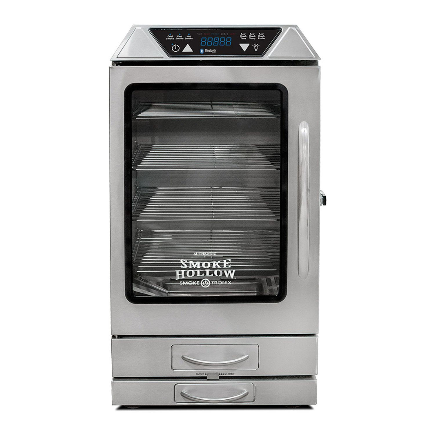 Smoke Hollow D4015SSS Digital Electric Smoker, 40.5'' x 20.5'' x 20''
