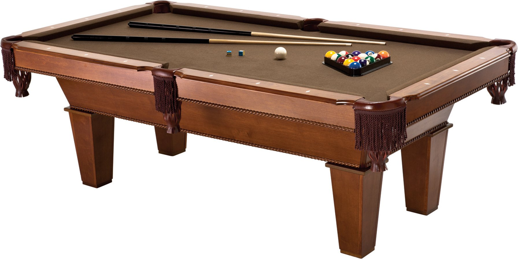 Fat Cat Frisco II 7.5-Foot Billiard/Pool Game Table by Fat Cat by GLD Products