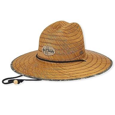 0cd9a9dd9f186 Sun  N  Sand - Guy Harvey Unisex Sun Hat With Logo Patch   Camo Underbrim  at Amazon Men s Clothing store