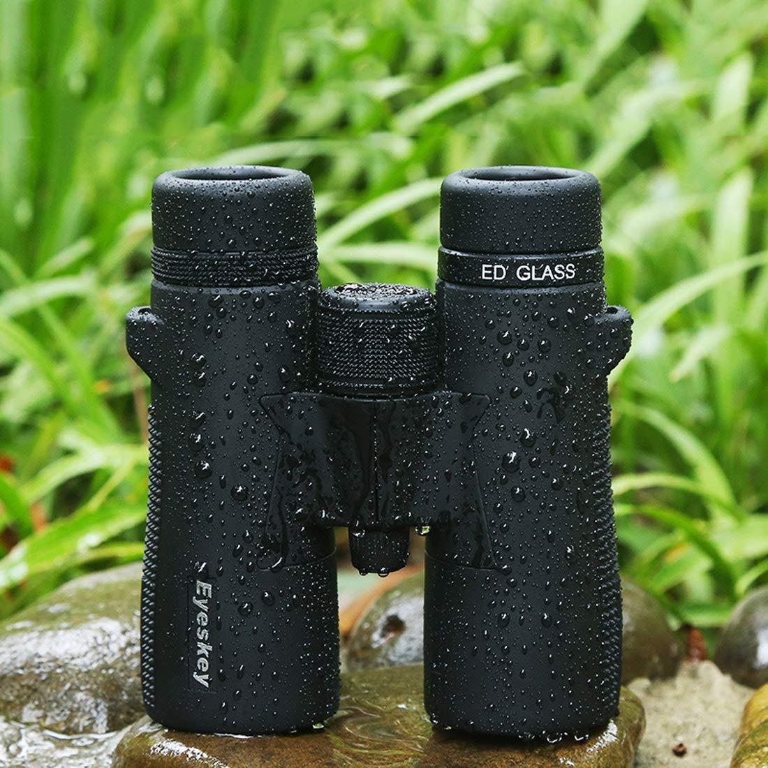 JESSIEKERVIN YY3 YY3 YY3 Ferngläser für Erwachsene mit handselektierten Prismen und HD-Glas, klarer und scharf für Jagd, Wandern, Wildbeobachtung oder Sportspiele (Farbe : Grün10X42) 9adf14