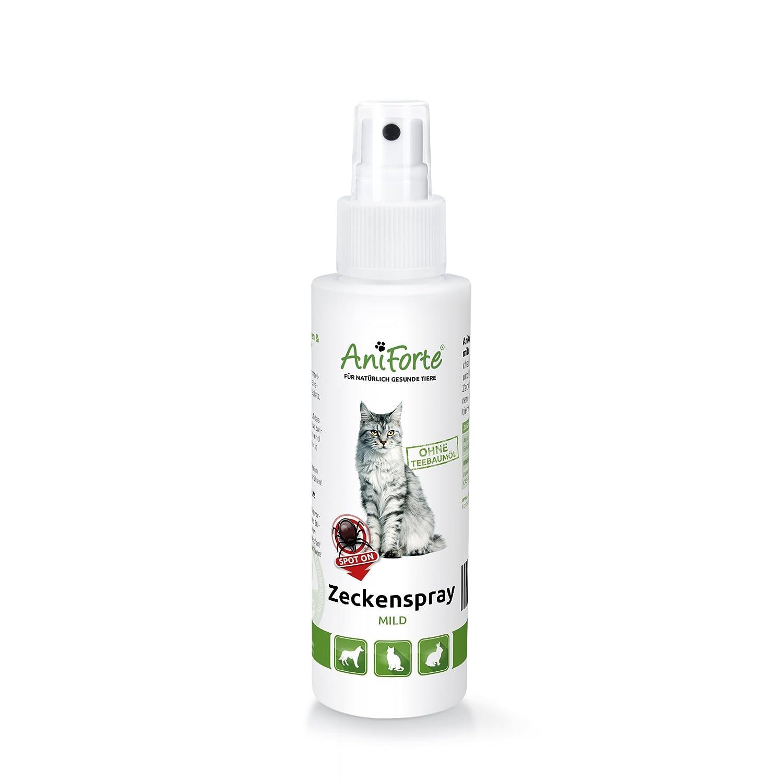 AniForte Zeckenspray MILD 100ml - Naturprodukt für Katzen Görges Naturprodukte GmbH