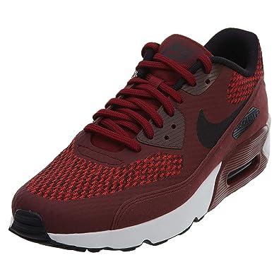 Nike Luft Flytop Sneakers Herren Schuhe - Team Rot Schwarz ...