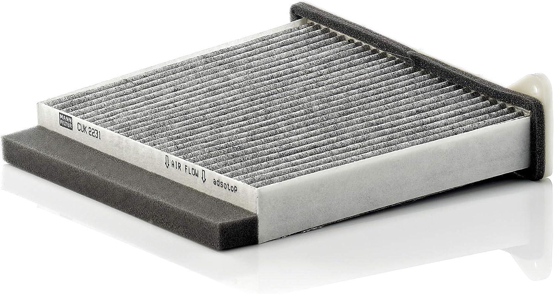 Original Mann Filter Innenraumfilter Cuk 2231 Pollenfilter Mit Aktivkohle Für Pkw Auto