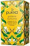 PUKKA Bio Goldene Kurkuma Tee, 1er Pack (20 x 1,8 g Teebeutel) - BIO