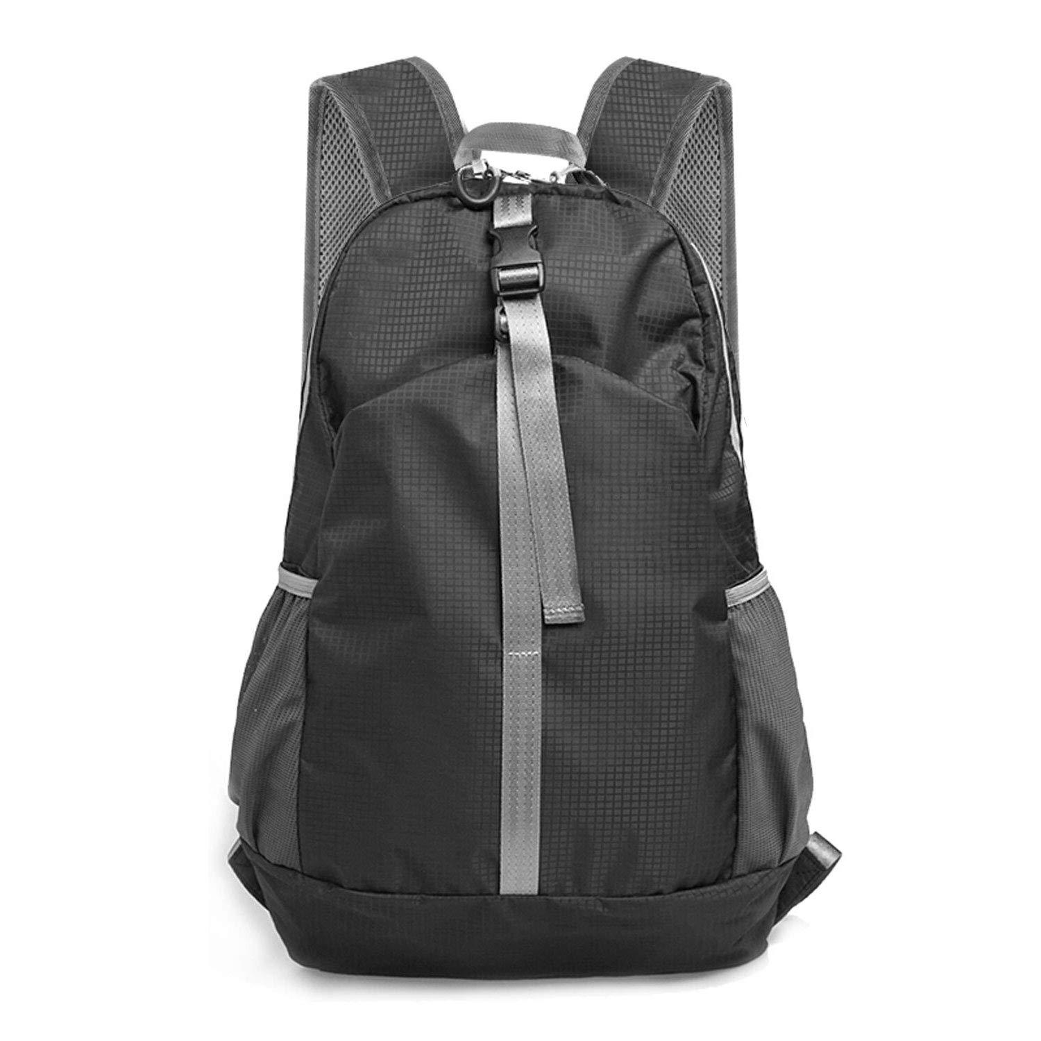MoKo Packable Travel Backpack Hiking Daypack, 30L Lightweight Foldable Water Resistant Outdoor Daily Backpacks for Men Women Boys Girls for Camping, Climbing, Vacation, Touring, Beach, Cycling