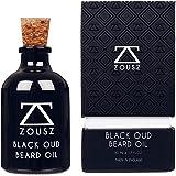 ZOUSZ Beard Oil | Aceite Barba Para Hombres | Aceite Para Barba Perfumado Black Oud | Hidrata y Acondiciona la Barba | Lujoso Hecho a Mano, Premium e Indulgente | Regalo para Hombre 50mL