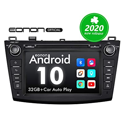 2020 Car Stereo, Double Din Car Stereo, Android Head Unit Eonon Android 10 Car Stereo Applicable to Mazda 3 Series Support Apple Carplay/Android Auto/Fast Boot/DVR/Backup Camera/OBDII -8 Inch -GA9463: Electronics