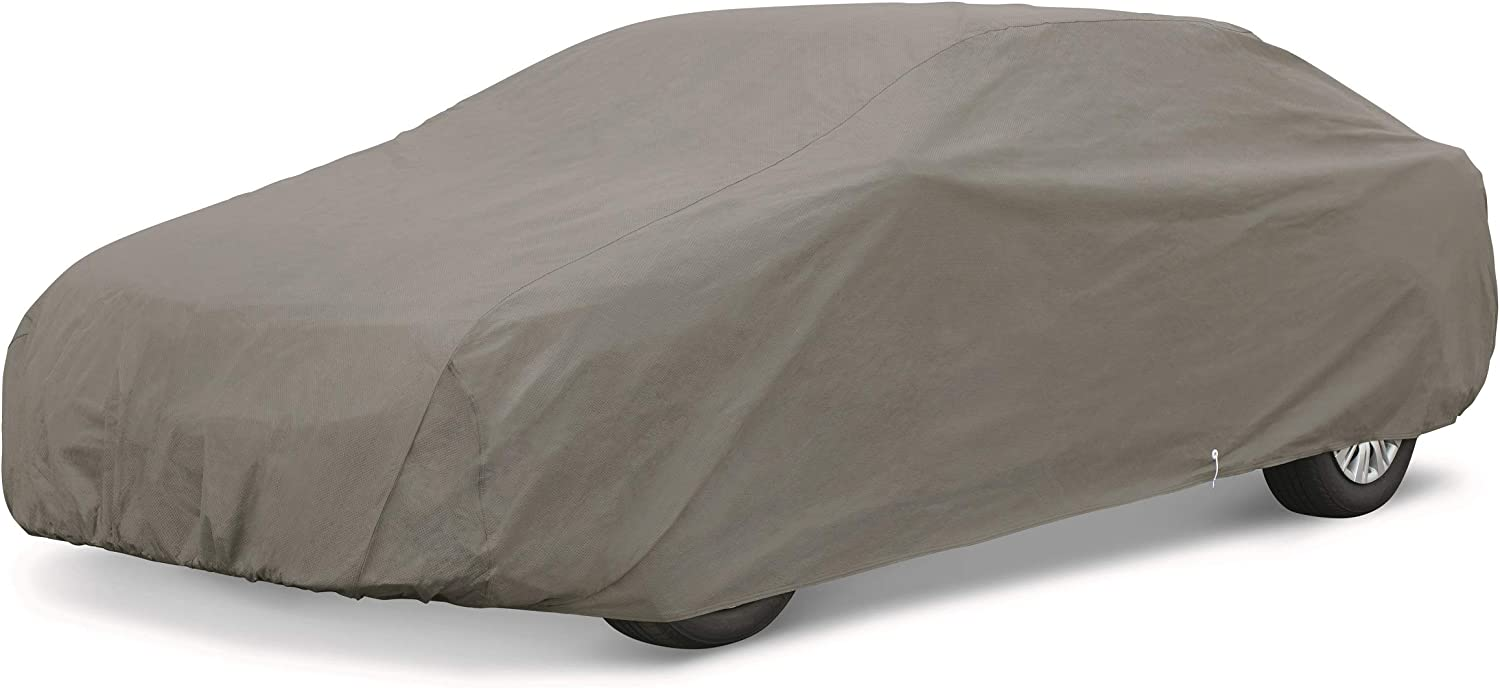 AmazonBasics Car Weather Cover, Compact