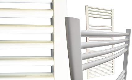 Radiador de baño SMYRNA Plus blanco 400 x 1760 mm. doblado, toallero calentador de