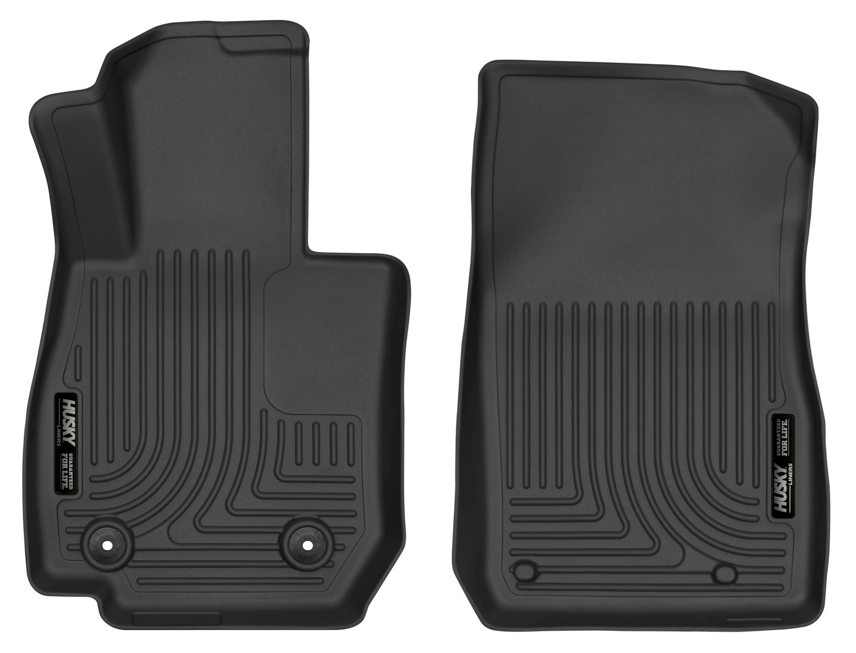 HUSKYLINER 52131 Black Floor Liners XC Front 16-17 CX-3