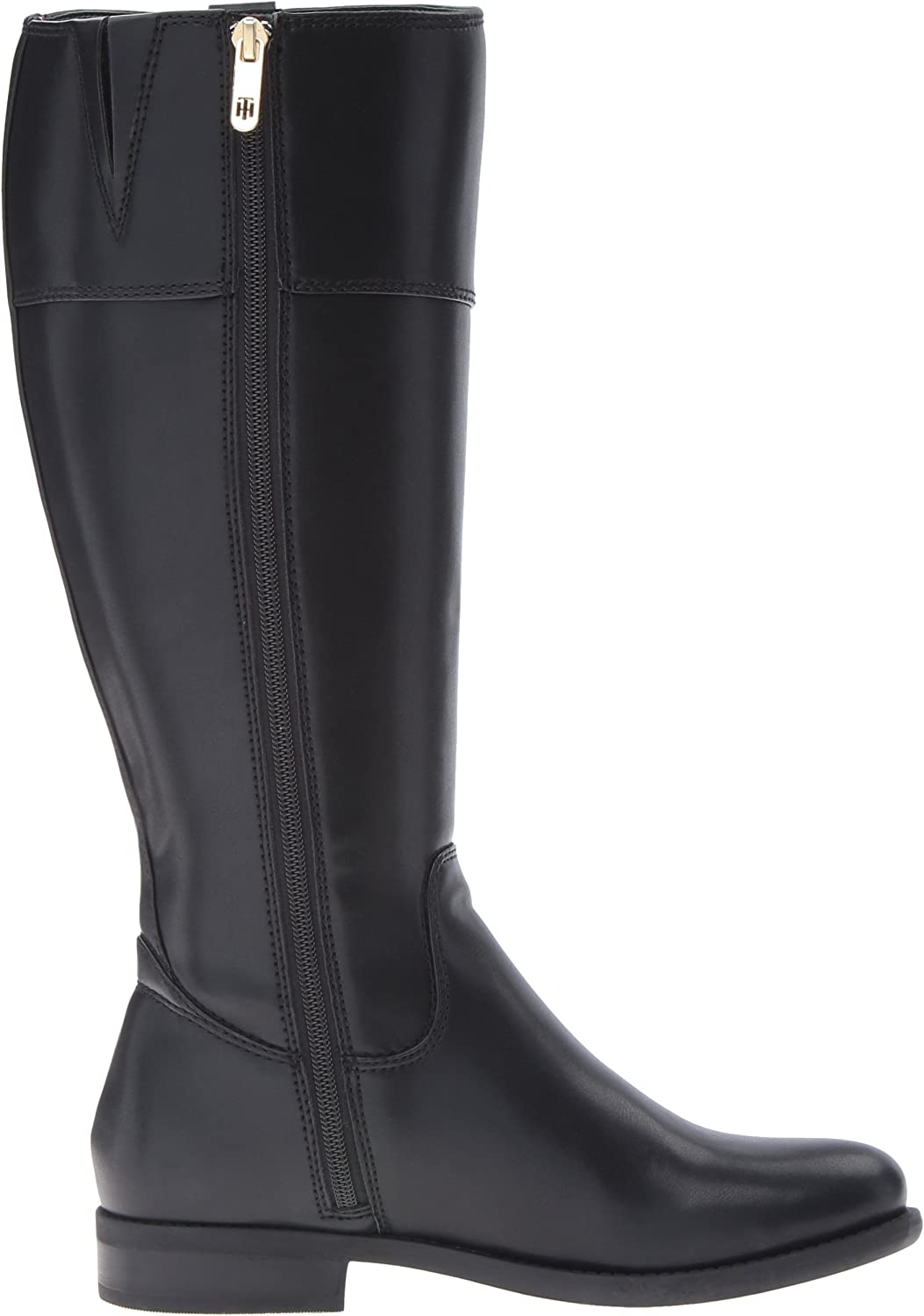 Tommy Hilfiger Womens Shano-Wc Wide Calf Classic Riding Boot