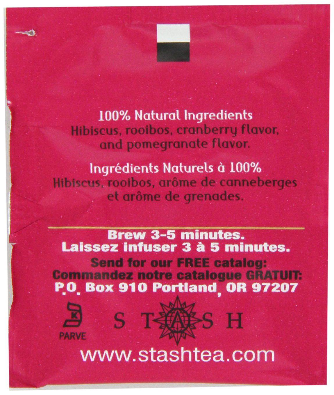 Individual Herbal Tea Bags for Use in Teapots Mugs or Cups, Brew Hot Tea or Iced Tea