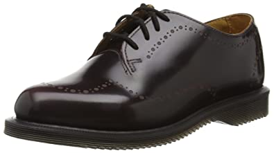 Lorrie III New Oily Illusion, Zapatos de Cordones Oxford para Mujer, Marrón (Dark Brown), 36 EU Dr. Martens