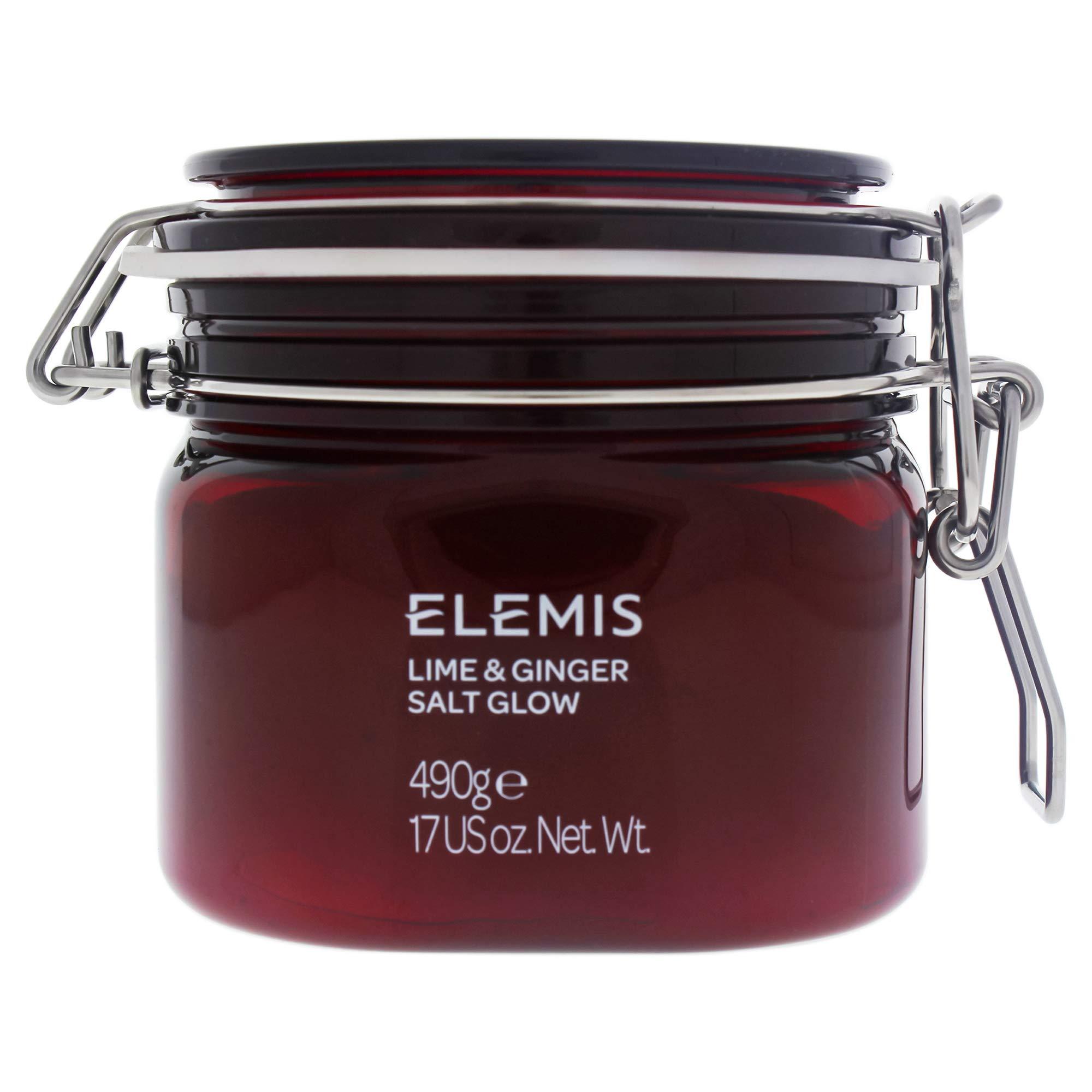 ELEMIS Lime and Ginger Salt Glow Invigorating Salt Scrub, 17 oz