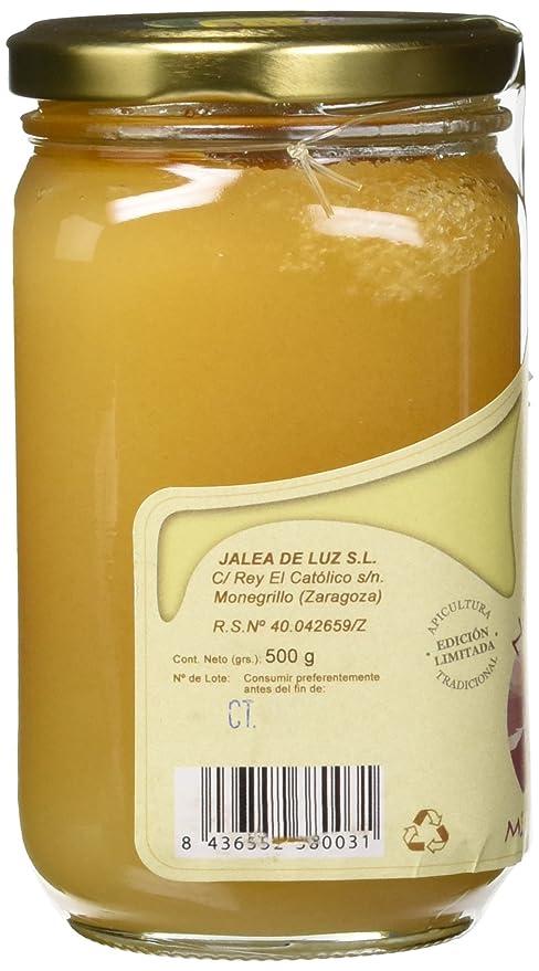 Jalea de Luz Miel Cruda Pura de Azahar - 500 gr.: Amazon.es: Alimentación y bebidas