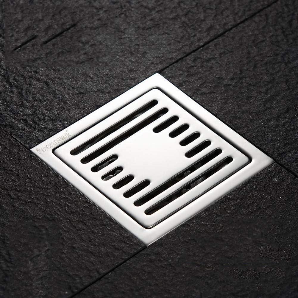 Daytwork Edelstahl Bodenablauf Fliesen Einsatz Dusche Abfluss mit Entw/ässerung Schutz Abfall Rost Sieb f/ür Badezimmer Toilette W/äscherei Garten Au/ßen K/üche