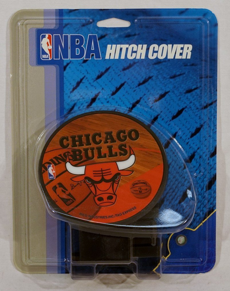 Rico Chicago Bulls NBA Basketball Economy Hitch Cover by Rico