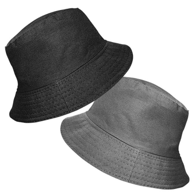 40e23d2a03f TOSKATOK UPF 50+ Ladies Women s Reversible Cotton Bucket Sun Hat - 2 Hats  in 1
