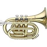 Levante LV-TR4415 Bb Pocket Trumpet - Lacquer