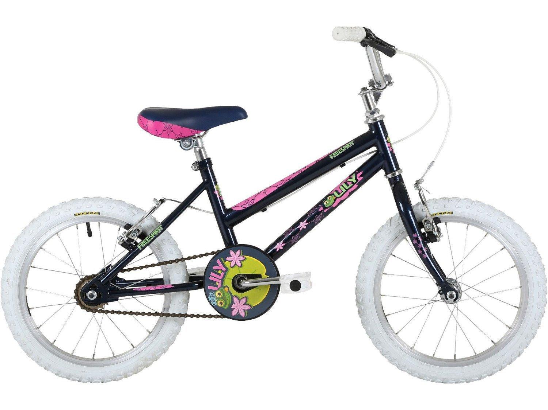 Skibrille FreeSpirit Lily 40,6 cm Mädchen Schwarz Mountain Bike 5–7yrs