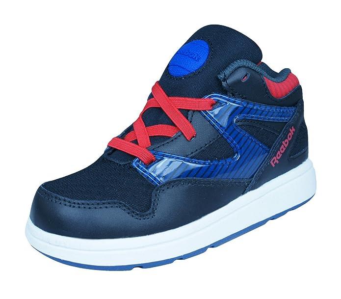 b9891ff77f2bfa Reebok Classic Versa Pump Omnilite Kids Trainers   Shoes  Amazon.co.uk   Shoes   Bags