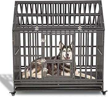 The LUCKUP Heavy Duty Dog Cage
