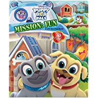 Puppy Dog Pals Puppy Dog Pals Mission: Fun: A Lift-the-Flap Book (Lift-and-Seek)
