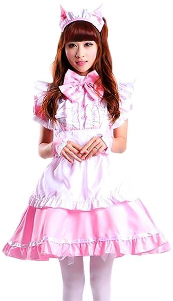 Amazon.com: seeksmile Women s cat ear Francés Maid cosplay ...