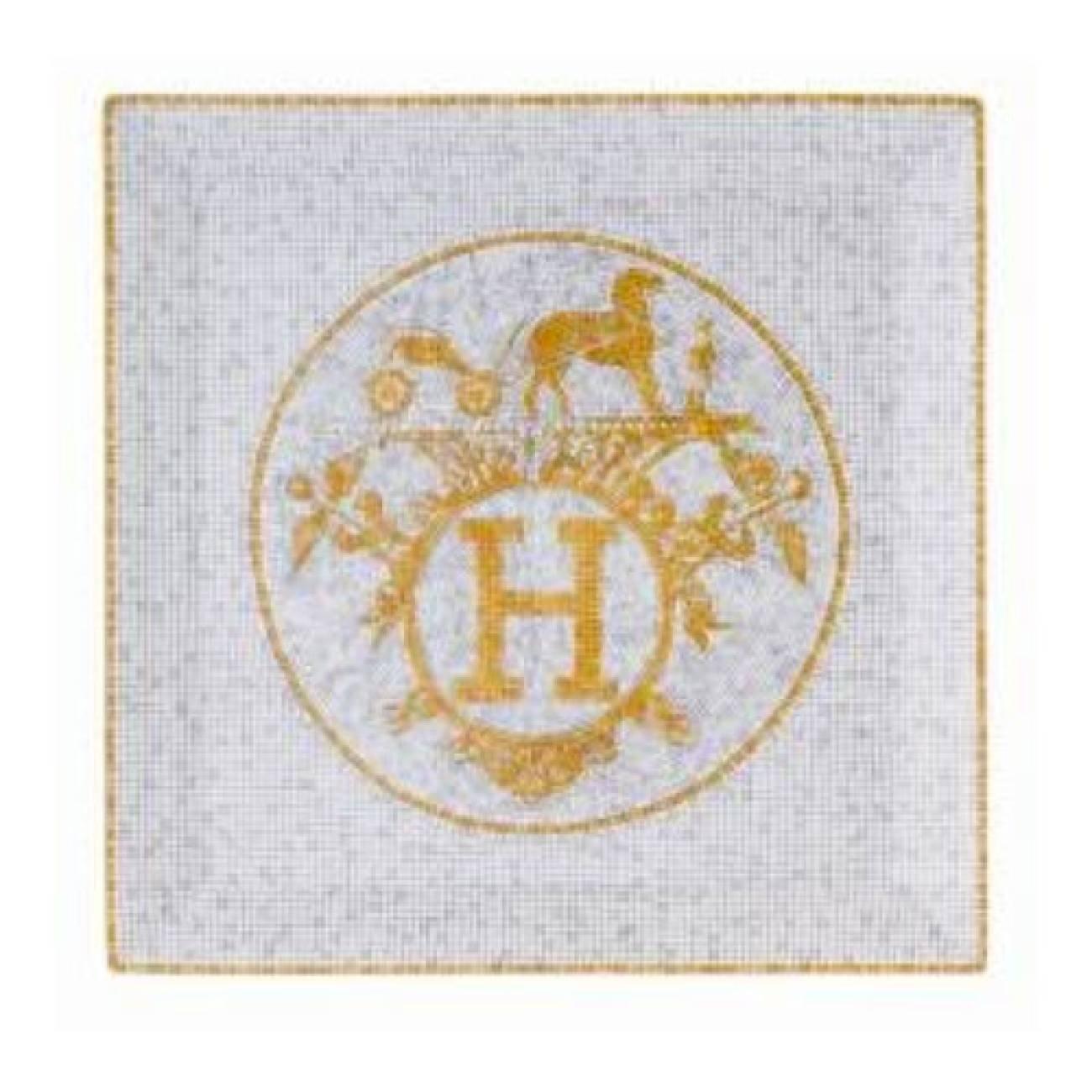 Hermes Mosaique au 24 Square Plate No. 5