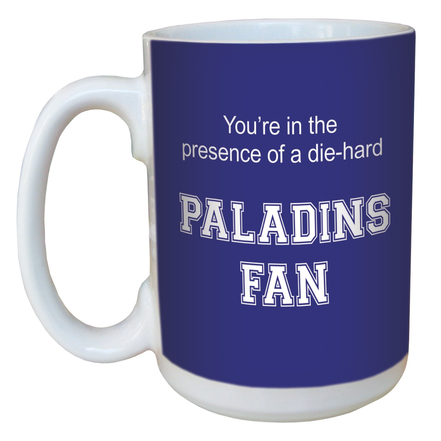 15-Ounce Tree-Free Greetings lm44440 Paladins College Football Fan Ceramic Mug with Full-Sized Handle